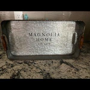 Magnolia home tray decor